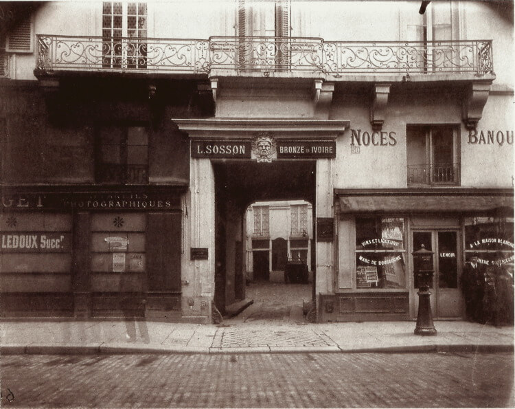 House, 50 rue Turenne, Paris 3, about 1913